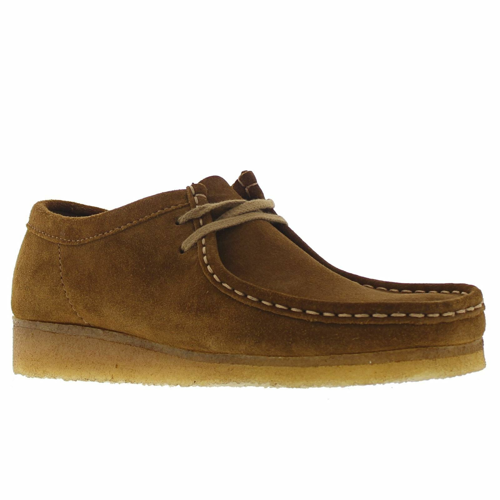 Clarks Originals Originals Clarks Wallabee Cola Mens Schuhes acf4d5