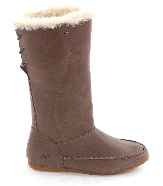 mujer Boxfresh botas marrón marrón mossie 2 2 2 gr 36 cuero forradas snowbota nuevo  100% garantía genuina de contador