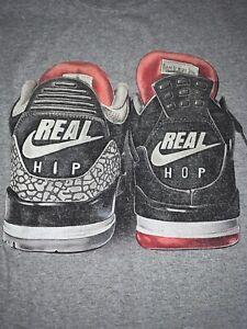 Vintage Hanes T Shirt Real Hip Hop Air