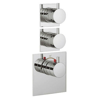 Crosswater Kai Lever 2 Outlet Concealed Thermostatic Shower Valve