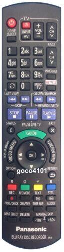 N2QAYB001039 GENUINE ORIGINAL PANASONIC REMOTE CONTROL DMR-BWT750 DMR-BWT955 NEW