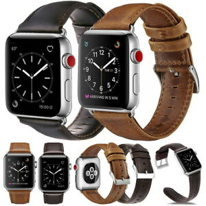 Genuine-Leather-Strap-Band-Bracelet-for-Apple-Watch-Series4-3-2-1-44-42mm-iWatch