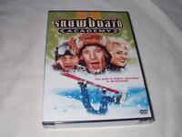 Snowboard Academy (1996) Dvd Jim Varney Brigitte Nielsen Corey Haim Sealed