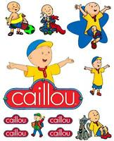 Caillou Iron On T Shirt / Pillowcase Fabric Transfer 2