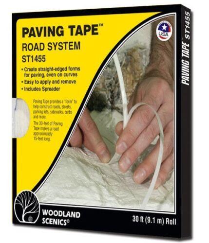 Woodland Scenics ST1455 Sub Terrain System Paving Tape 30/' Roll