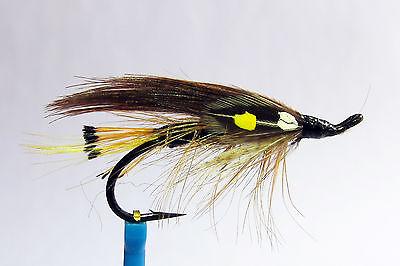 1 x mouche Saumon CASCADE SINGLE hook salmon fly fliegen steelhead hairwing