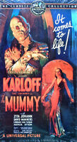 The Mummy - Boris Karloff, Zita Johann - Vhs Tape - Still Sealed