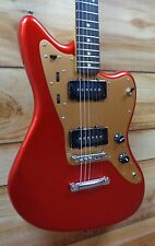 New Squier® Deluxe Jazzmaster ST Rosewood Fingerboard Candy Apple Red