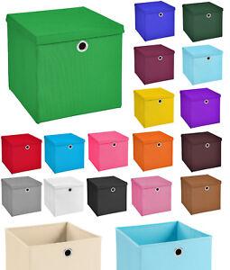 4er Set 33x33x33 Aufbewahrungsbox Spielkiste Regalkorb