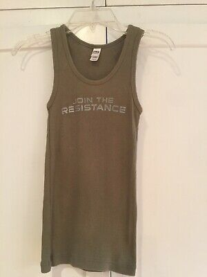 "Terminator Salvation 2009 Official ""join The Resistance"" Promo Tank Size Sm"