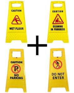 Professional Caution Wet Floor Sign Frame Parking