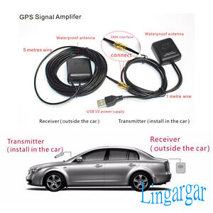 GPS Antenna Amplifier Receiver Repeater for Android Phone