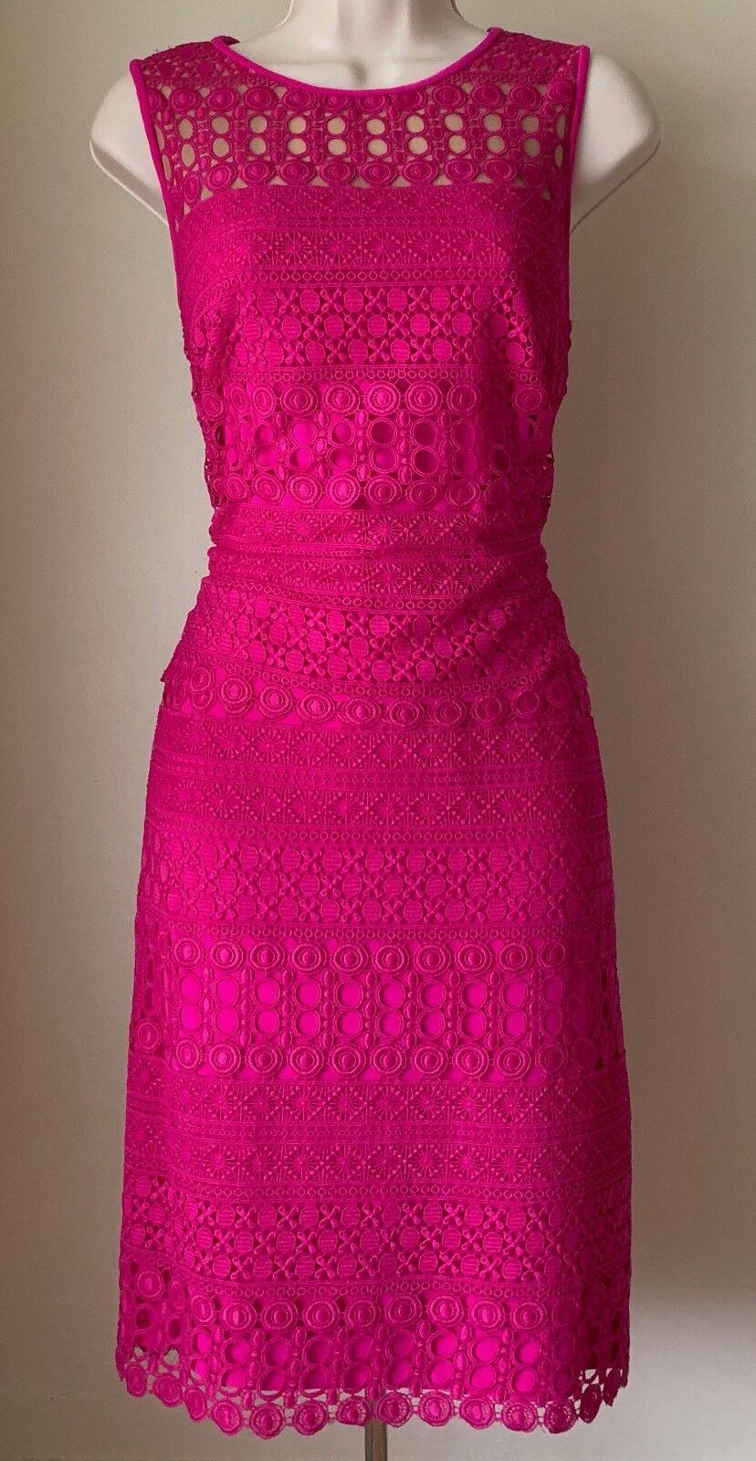 LAUREN Ralph Lauren Scalloped Lace Lace Lace Sheath Dress NWT Size 10 f55564