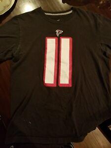 hot sale online f6e80 6b80c Details about Julio Jones - Atlanta Falcons Jersey T-shirt - Nike, Black  Men's M