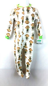 d3e19caa2 Carters Child Of Mine Toddler Boy s Footed One Piece Zip Pajamas ...