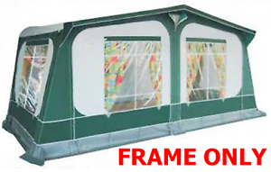 FRAME ONLY Pyramid Tuscany Corsican STEEL caravan awning ...
