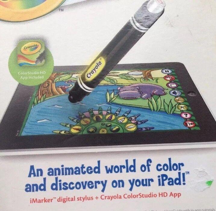 Crayola Color Studio HD iMarker Digital Stylus Coloring Drawing Ipad Accessory