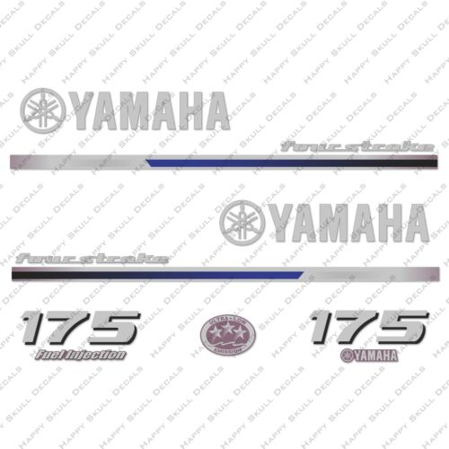 Yamaha 175HP Four Stroke Outboard Engine Decals Sticker Set reproduction 2013