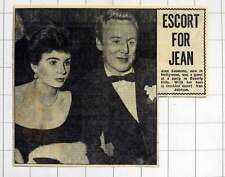 1952 Jean Simmons With Her Freckled Escort Van Johnson Beverly Hills Party