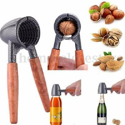 Quick Walnut Cracker Nutcracker Sheller Nut Opener Kitchen Tool Plier New