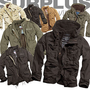 SURPLUS-M65-REGIMENT-SUPREME-JACKE-FELDJACKE-WINTERJACKE-JACKET-Parka-Fell