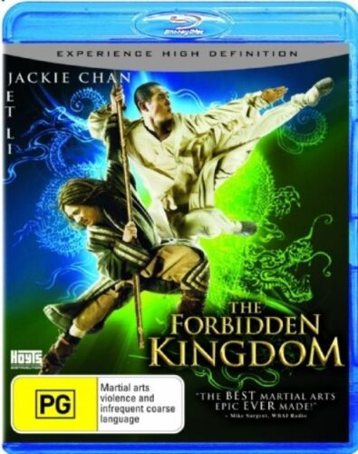 1 of 1 - NEW SEALED BLU-RAY THE FORBIDDEN KINGDOM  RATED PG