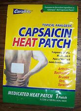 Coralite BULK Case of 48 Capsaicin Hot Patch