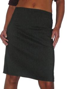 (2210) Casual Stretch Skirt Daytime School Dark Grey 6-18 Warmes Lob Von Kunden Zu Gewinnen