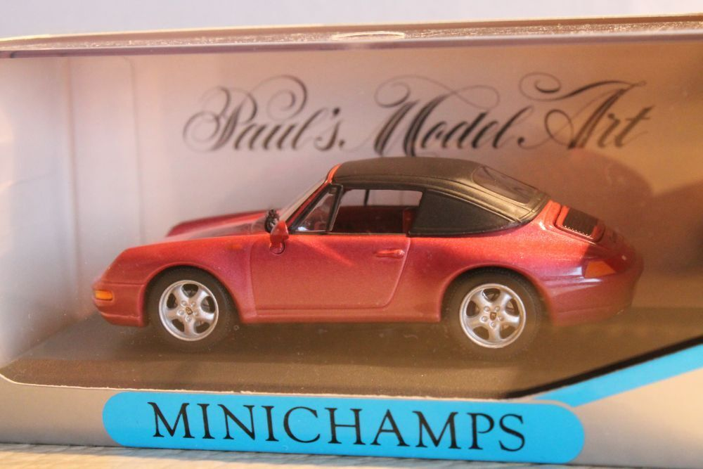 Minichamps  porsche 911 (993) cabriolet  OVP 1 43  rar