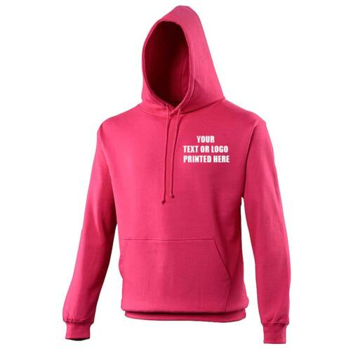 Custom Printed Hoodie Stag Hen Workwear AWD Front /& Back Full Colour JH001