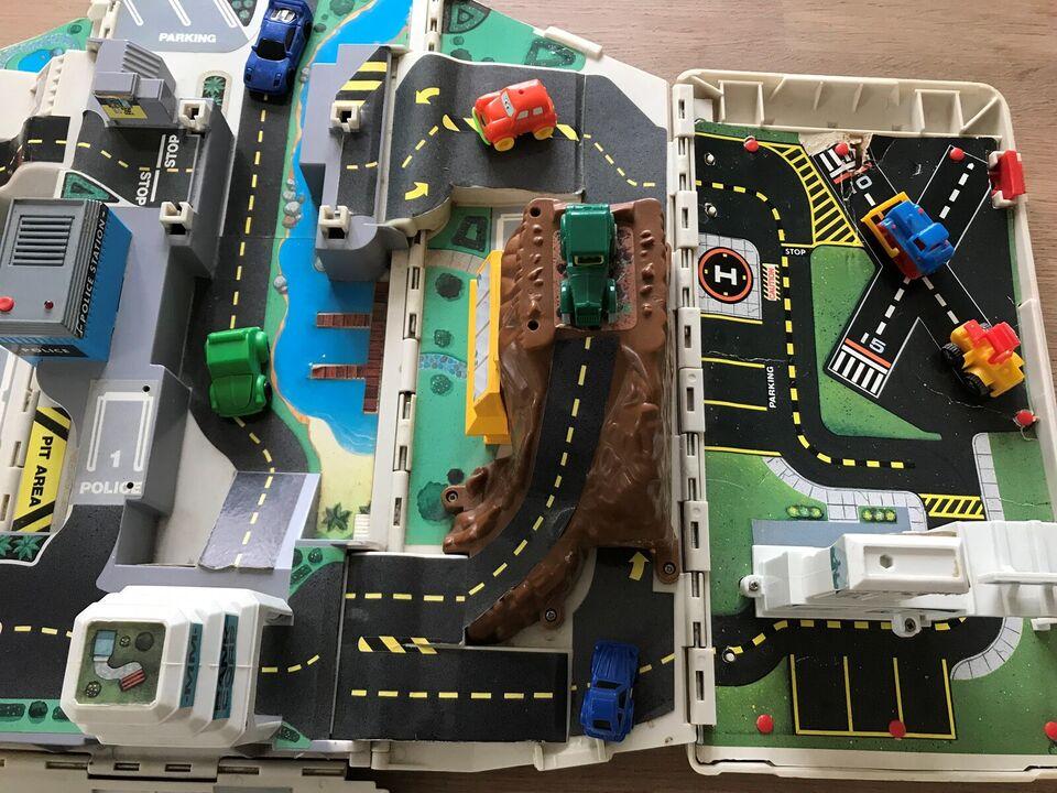 Andet legetøj, Stor bil med bilbane, Mobile city