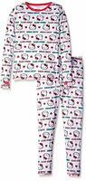Cuddl Duds Chill Chasers Hello Kitty Girls Long Underwear Xs 4/5