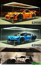 Acrylic Display Case Fit For LEGO For Porsche Bugatti Chiron 42056 42096 42083