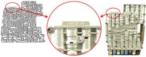 ZF 6HP19//21//26//28//32//34 Zwischenplatte 1068 227 065 ZF A065 B065 mit 6 Kolben !