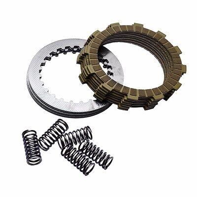 Tusk Competition Aramid Fiber Clutch Kit w// HD Springs KX250F RMZ250