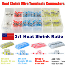 Solder Seal Sleeve Terminals Waterproof Heat Shrink Wire Connectors 10 26awg