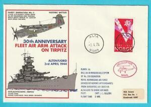 Pratique Norvège Helikopterpost Année 3.4.1974 Cachet Spécial-afficher Le Titre D'origine