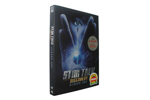Star Trek Discovery Season One 1  (DVD, 4-Disc Set) NEW Free shipping