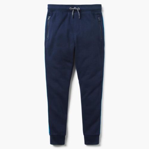NWT Gymboree Boys Pull on Pants Sweatpants Jogger Navy Blue Striped 5//6,7//8,14