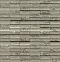 Sparkle Series Beige Small Subway Mosaic Tiles - Backsplash Tile/bathroom Tile