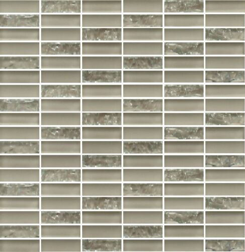 Sparkle Series BEIGE Small Subway Mosaic Tiles backsplash tile//bathroom tile