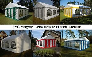Partyzelt-3x4-4x10m-Festzelt-Gartenzelt-Pavillon-Bierzelt-wasserdicht-PVC-NEU