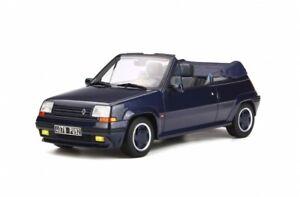 Renault-5-GT-Turbo-Cabrio-1-18-escala-Otto-Modelos-Excelente-Coleccionistas-Raro-OT280