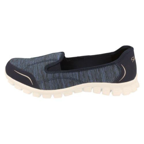 sport confortables de Flex légers marine Ez 2 Skechers marche Escarpins bleu et couleur WZYfHqOz