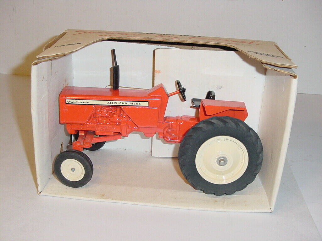 1 16 Allis Chalmer 170 Wide Front Tractor W Box  1991 Summer Toy Festival