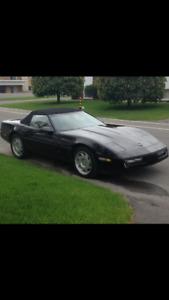 1990 Chevrolet Corvette Triple Black