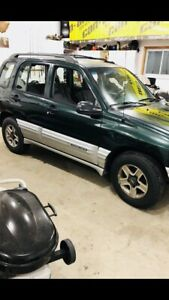 2002 Chevrolet tracker 4x4
