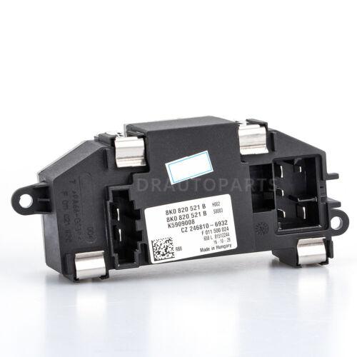 HVAC Blower Motor Resistor For Audi A4 B8 A5 A8 Q5 S4 S5 S8 8K0820521B