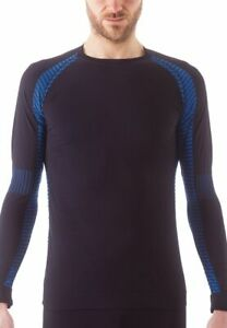 Issimo-Men-039-s-Athletic-Compression-Long-Sleeve-Shirt-Moisture-Wicking-Top
