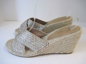 aa2b69bf387 Image is loading Bettye-Muller-Hanna-Jute-Rope-Wedge-Sandal-size-